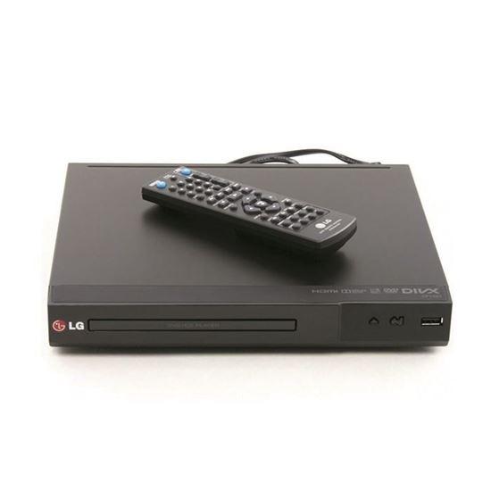 تصویر پخش کننده DVD ال جی مدل DP132